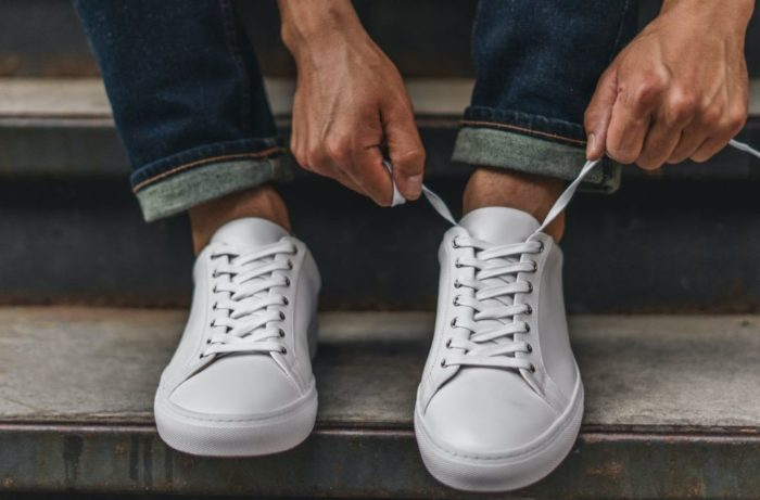 shoes every man should own white sneakers