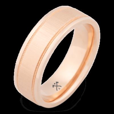 mens rose gold ring