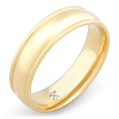 mens ring yellow gold