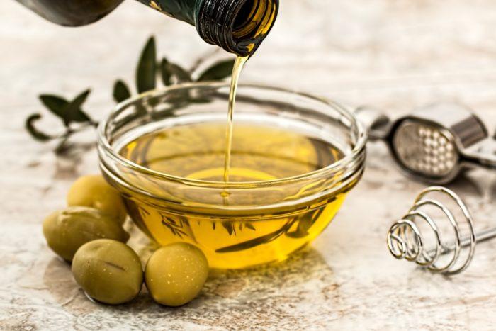 olive oil shaving