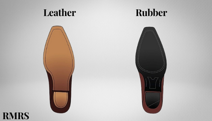 two different soles for the best dress shoes for men