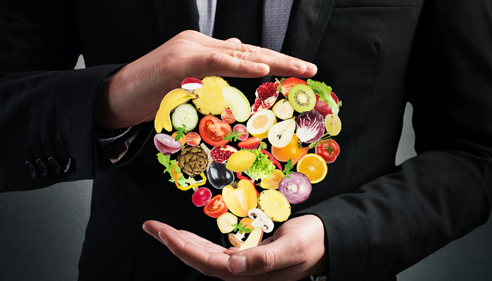 good diet - how to succeed in business