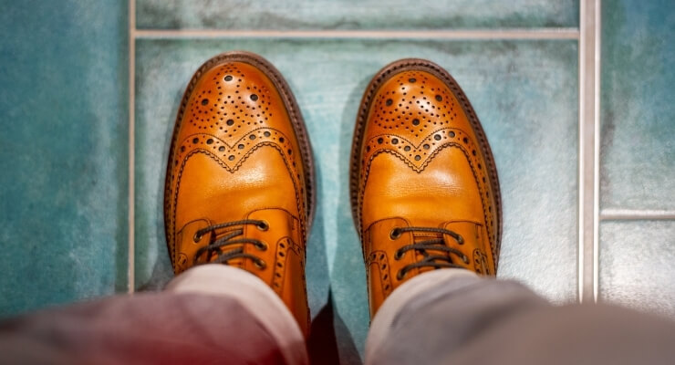 brogue boots are sexiest clothing men wear