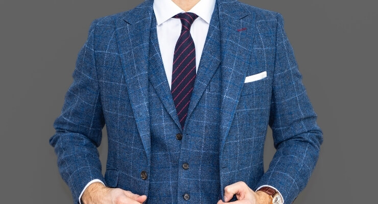 how to wear a harris tweed suit