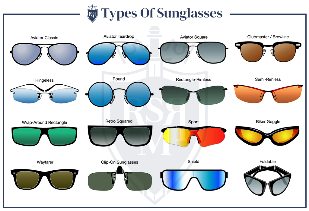 classic styles of mens sunglasses