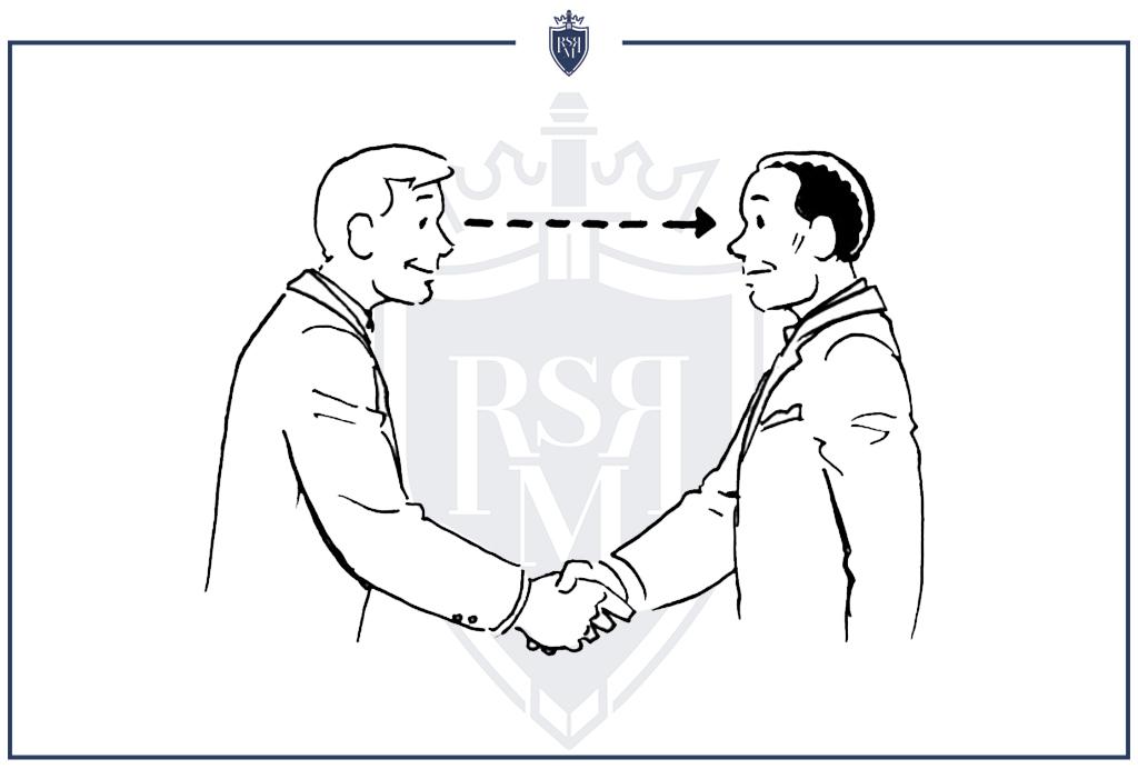Mantenha contato visual para se comunicar com confiança