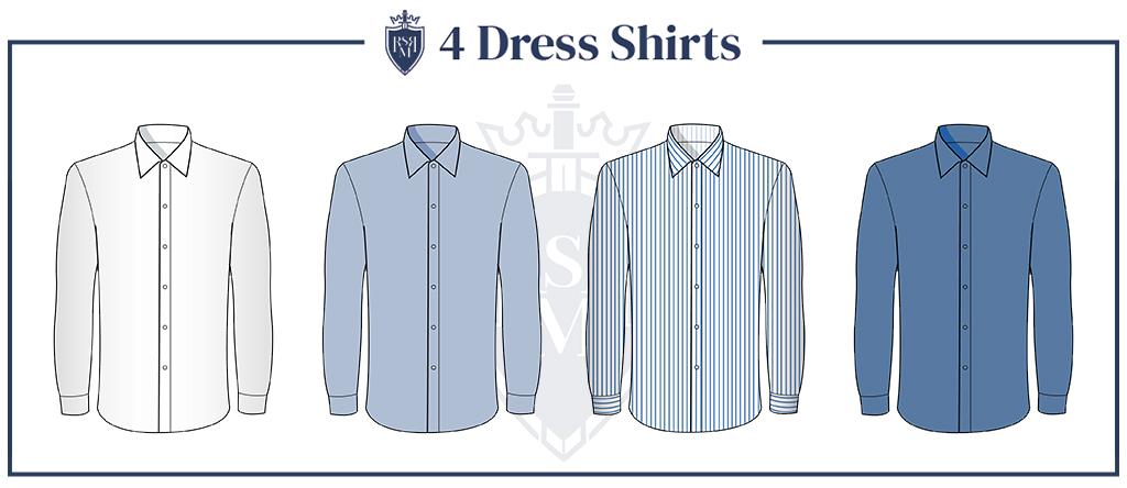 dress shirts is a part of 30yo guy wardrobe