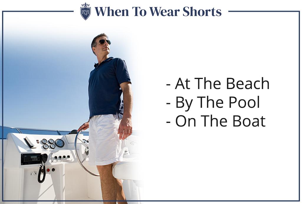 when men can wear shorts