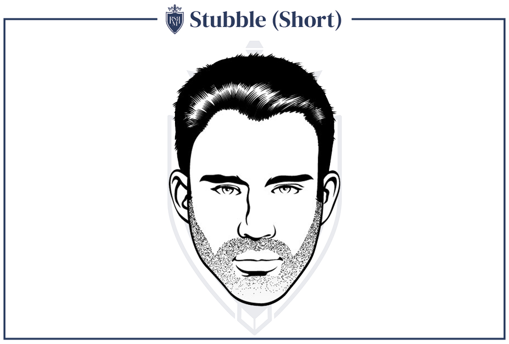 men with stubble instantly look cool