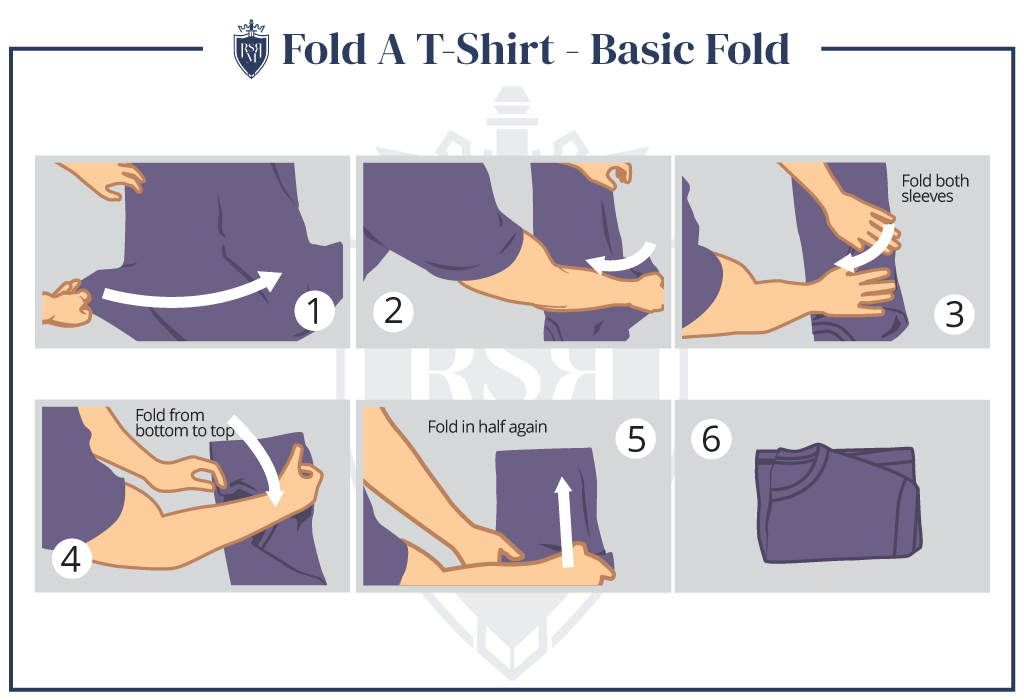 How To Fold A T-Shirt In Under 3 Seconds (T-Shirt Folding Tips)