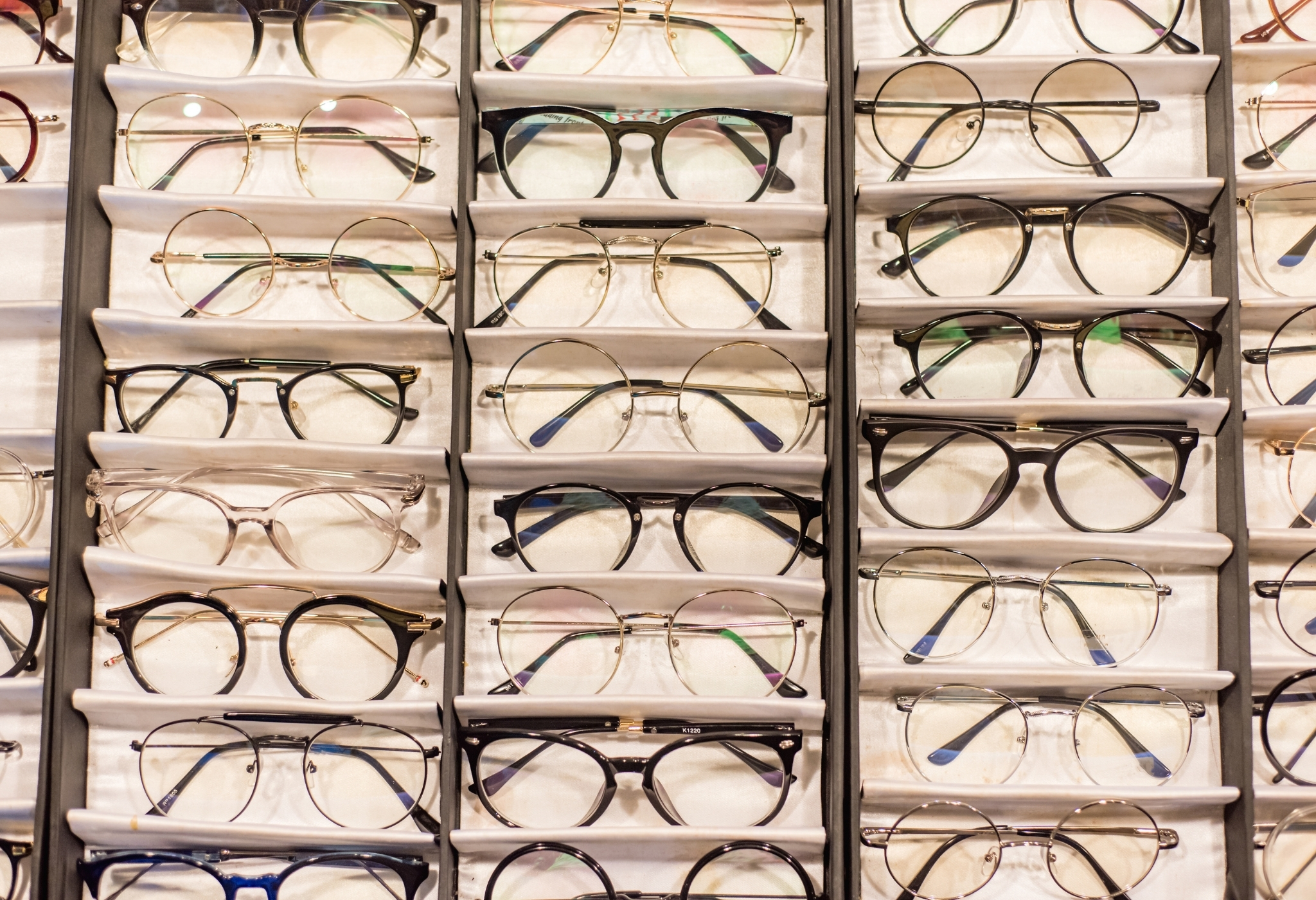 formas de armação de óculos