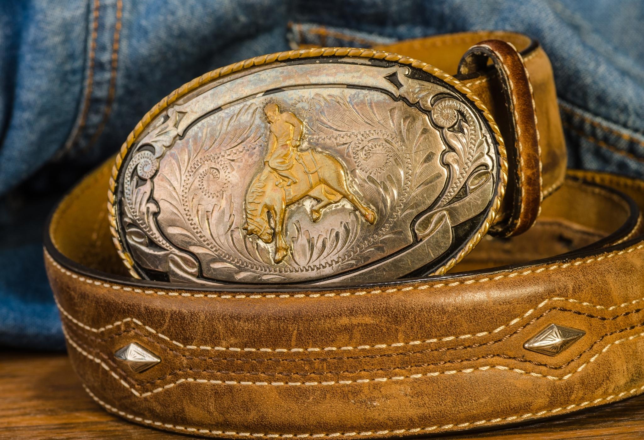 men's cowboy belt buckle