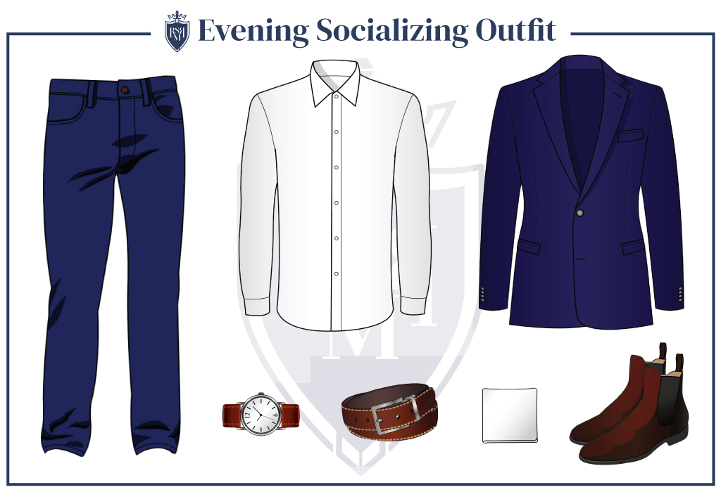 Men's Evening-Socializing-Outfit