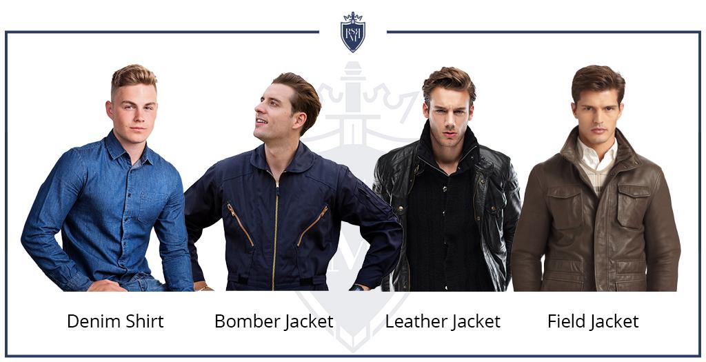 como usar camisas jeans masculinas