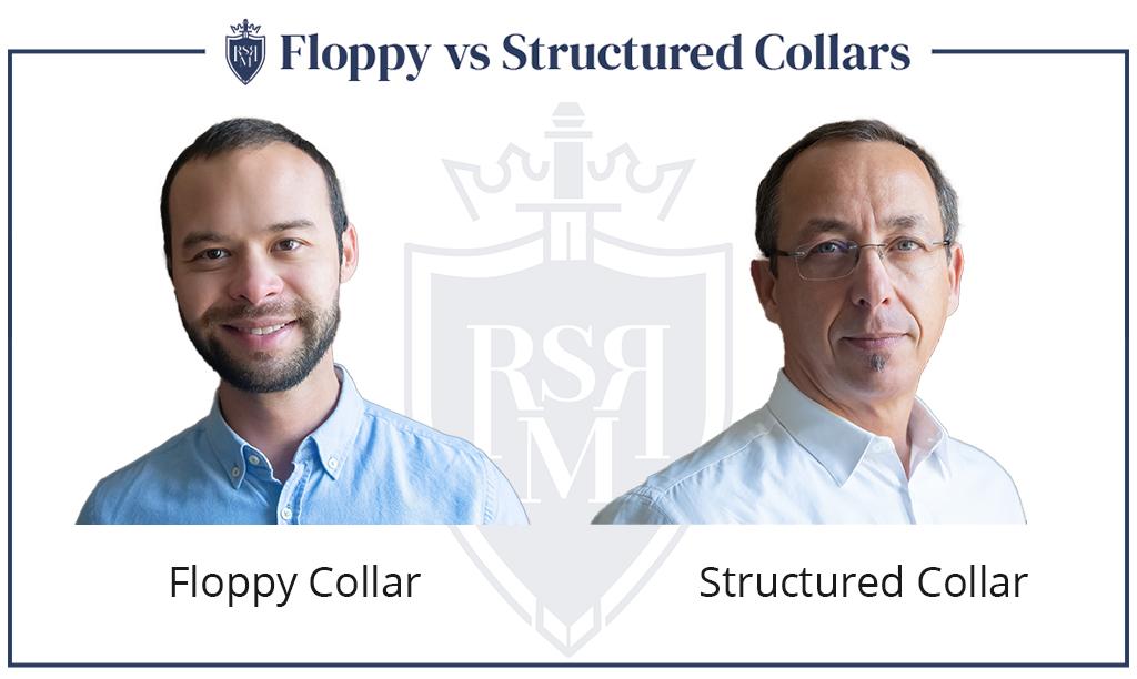 comparação de floppy vs colar estruturado