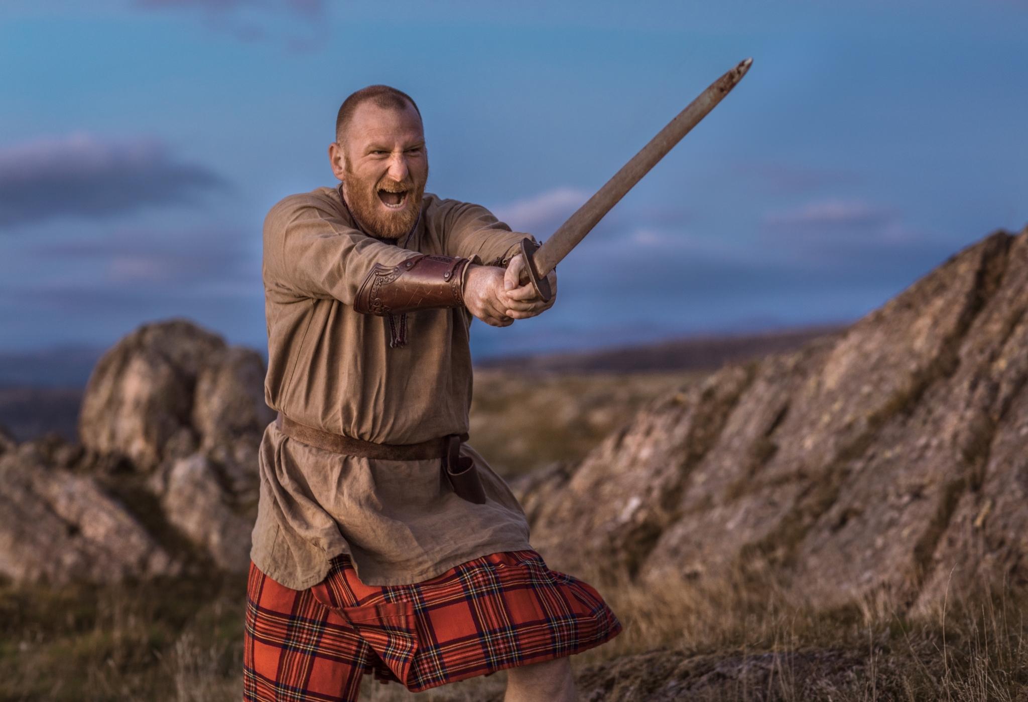 guerreiro escocês ágil