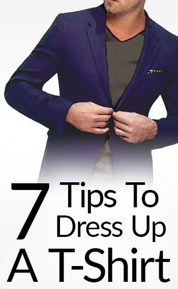 How To Make A T Shirt Stylish 7 Ways To Dress Up A T Shirt