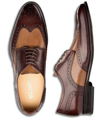 Ace-Marks-brogue-shoes-brown