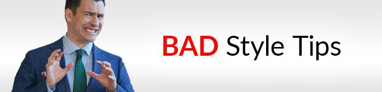 "10 BAD Style Tips | Don't Listen To These ""Beliefs"" On Clothes & Fashion"
