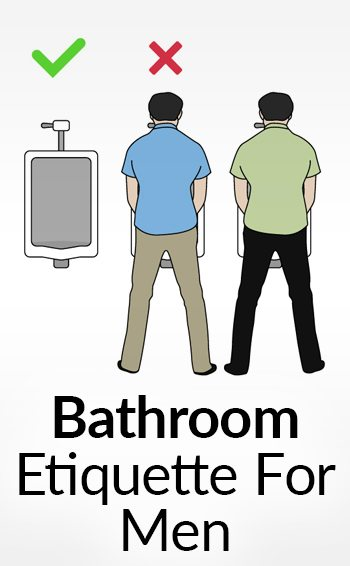 Rules for urinating in public bathrooms privacy in a for Bathroom edicate