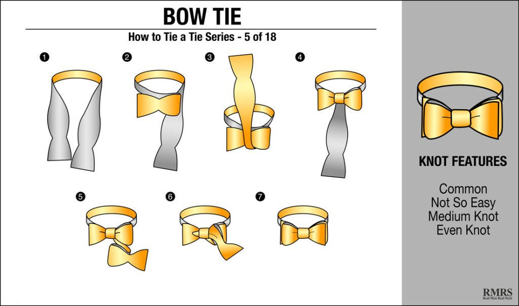Video proof that a bow tie is all you need how to tie a bow tie ccuart Images