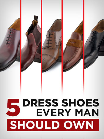 e7f0eee2556 The First 5 Dress Shoes Every Man Should Buy