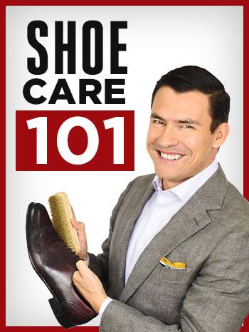 Men's dress shoe care tips