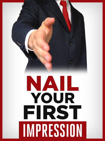 First impression how nail tall
