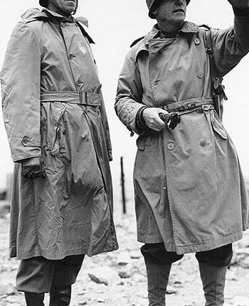 7de244ad60e From the muddy trenches of France to the streets of the growing metropolis,  the trench coat is a staple in weather protection. When a gentleman puts on  a ...
