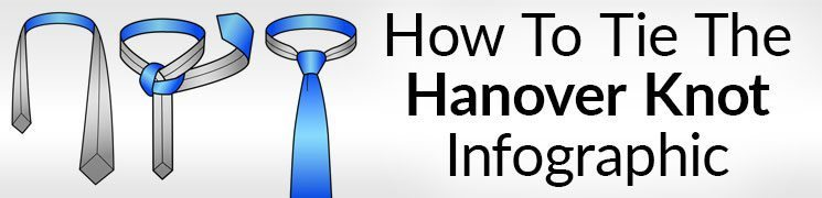 How To Tie The Hanover Knot Infographic