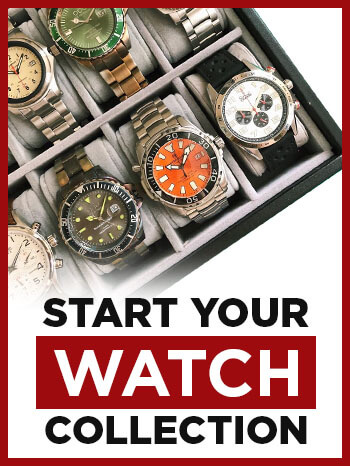 build a watch collection