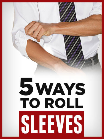 how to roll shirt sleeves