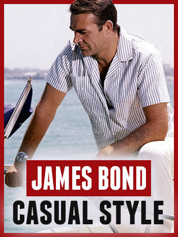 James Bond Casual Style