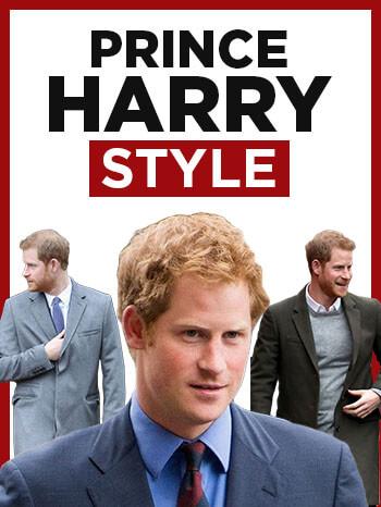 Prince Harry Style