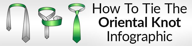 How To Tie The Oriental Knot Infographic