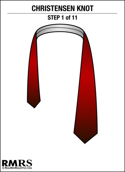 How to tie the christensen knot unique necktie knots no playable sources found ccuart Images