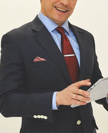 How to wear a tie clip and where to buy one first off its meant to hold the tie to the shirt ccuart Image collections