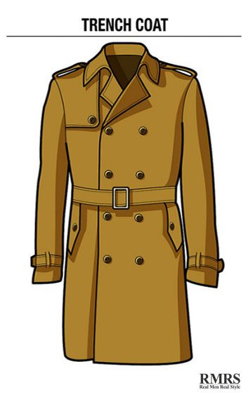 Guide To Man S Trench Coat Stylish Practical And