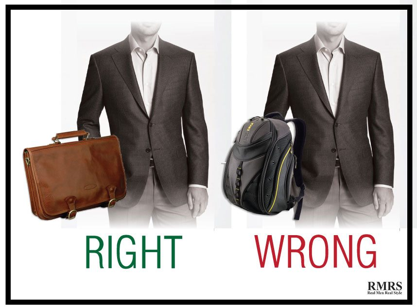 A Professional Way To Carry Your Work – Right Vs. Wrong