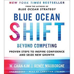audible audio books blue ocean shift