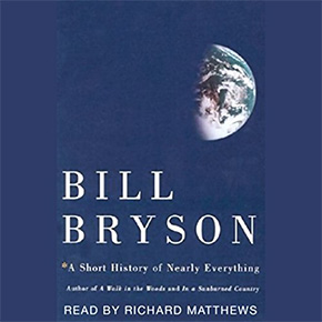 audible audio books bill bryson short history everything