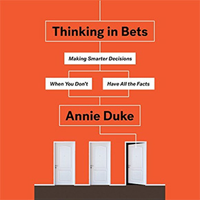 audible audio books thinking bets