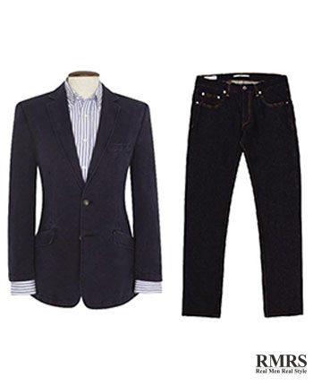 4ad7791e4c2f How To Wear A Blazer Jacket With Jeans   Matching Blazers With Denim