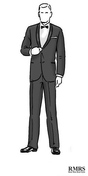 A Guide To Social Dress Codes For Men Black Tie Business Dress