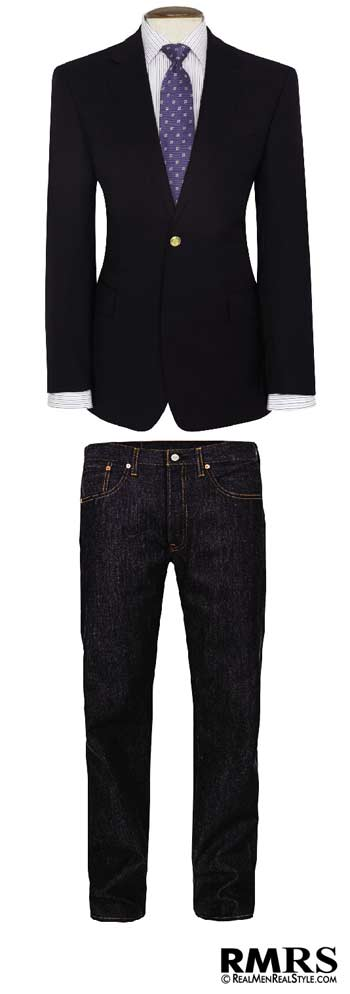 2edd9be4f0 What to Wear with A Navy Blazer