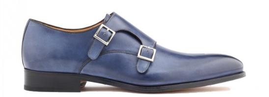 double monk strap dress shoe