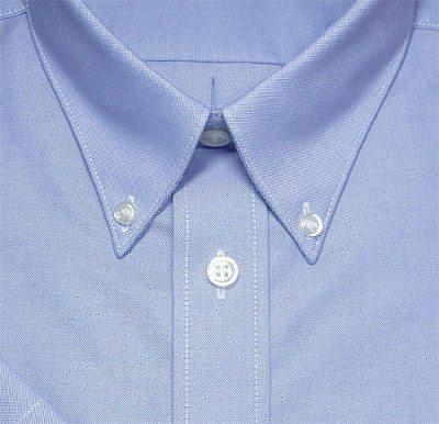 d36dda64eb2d57 Men's Button Down Vs Point Collar | Man's Guide To Shirt Collars