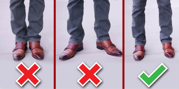 correct foot position