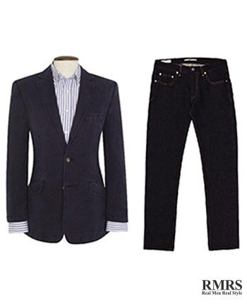 How To Wear A Blazer Jacket With Jeans | Matching Blazers With Denim