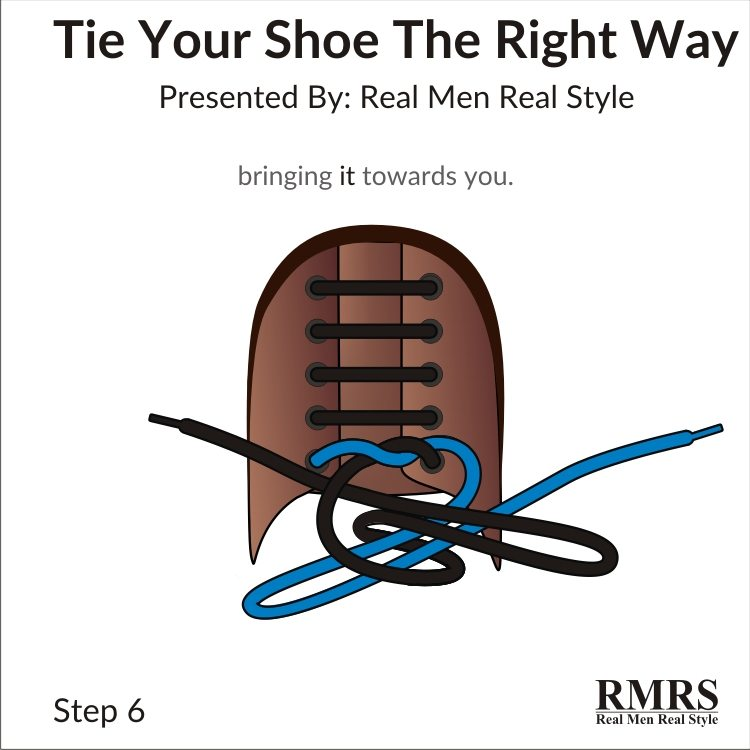 bfd1915e5fea How To Tie Your Shoes The Right Way
